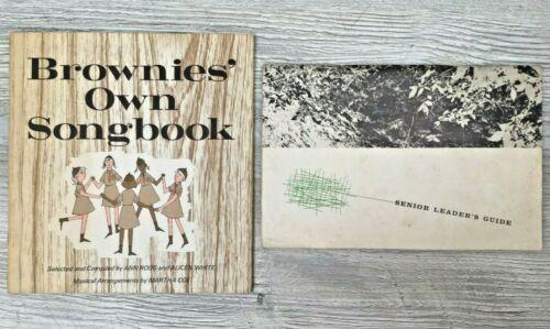 1968 Brownie Songbook & 1956 Girl Scouts Senior Leader