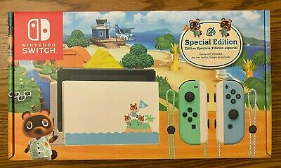 NEW Nintendo Switch Console: Animal Crossing Edition (game not included) 32GB