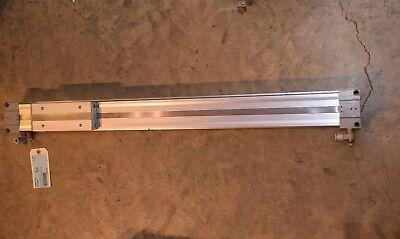 Smc My1b50tn-600 Rodless Air Cylinder Pneumatic Cylinder 115 Psi .80 Mpa