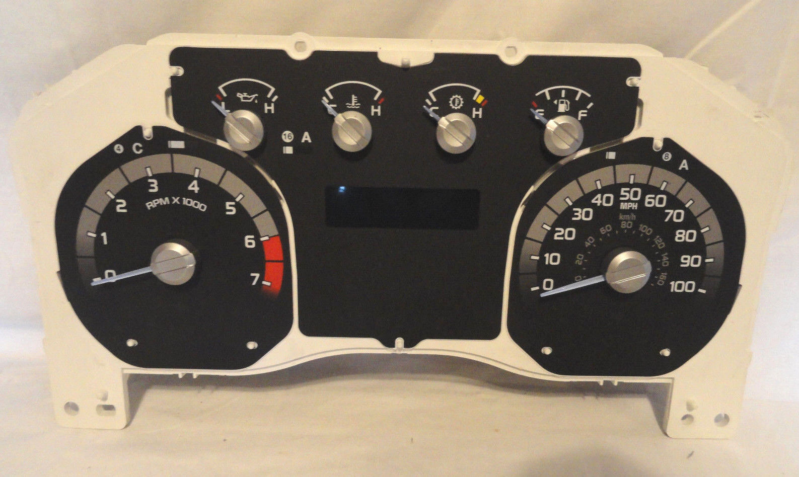 Used Ford F 350 Instrument Clusters For Sale 1955 F100 Pick Up Gauge Cluster 2015 F250 F350 Super Duty 62l Gauges W 8k No Lens