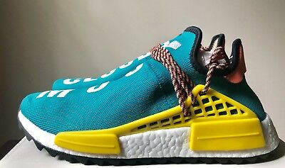 Adidas x Pharrell Williams Human Race NMD Trail Sun Glow Hu Clouds Teal AC7188