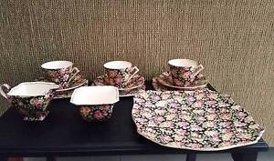 Vintage Royal Winton Grimwades tea set. Beeston pattern Diamond Creek Nillumbik Area Preview