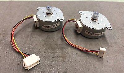 Stepper Mat - LOT OF 2 NMB-MAT PM42L-048-RBG8 STEPPER MOTORS