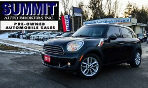 2012 Mini Cooper Countryman LEATHER | BLEUTOOTH | SUNROOF | HEAT
