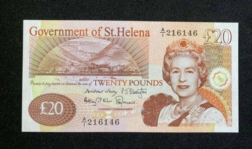 2004 Saint Helena 20 Pounds ( P 13 ) - UNC -