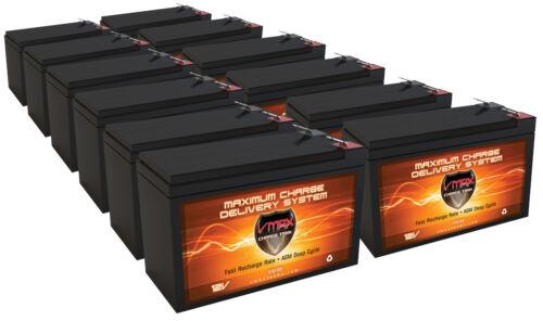 13 PACK: VMAX63 12V 10AH AGM SLA FRESH Batteries UPS Power Backup Alarm Security