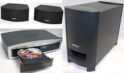 Bose 3-2-1 GS Series II A/V DVD Home Theatre System Set 2.1-Speakers + Sub 321 B