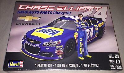 Revell Chase Elliott Napa Auto Parts Chevy Ss  24 1 24 Model Kit New 4222