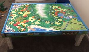 Thomas the Tank Engine table, trains, tracks and buildings Engadine Sutherland Area Preview