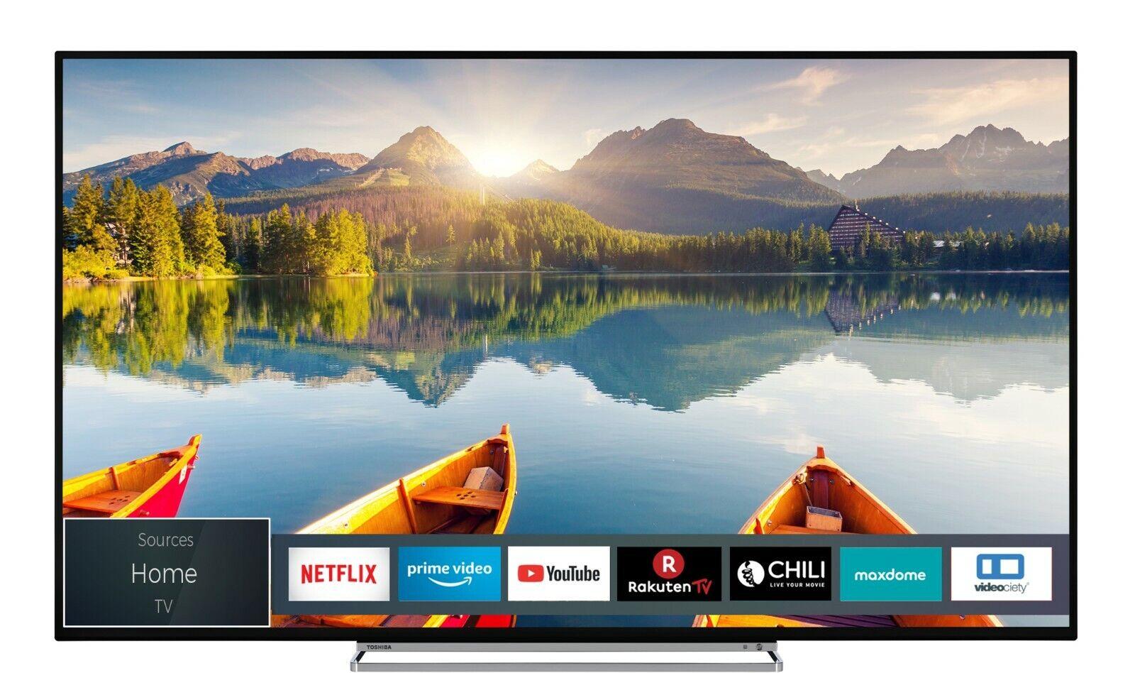 Toshiba 55U6863DAZ 55 Zoll Fernseher 4K UHD SmartTV HDR Dolby Vision Onkyo Sound