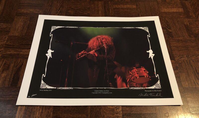 Jethro Tull Fillmore East AP Artist Signed Poster