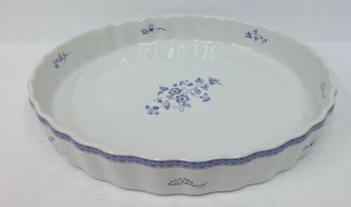 Fyrklovern Apilanlehti Quiche Pie Plate Pan - Blue Mansion