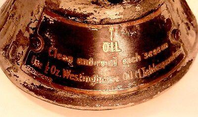 Vintage Antique 1912-17 Westinghouse Sidewinder Ceiling FanMounting Bracket