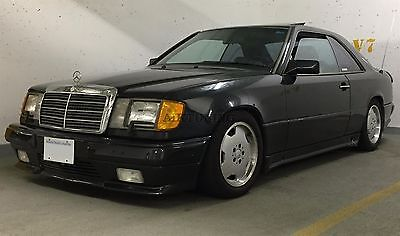 Mercedes Benz W124 Coupe Cabrio AMG Style Side Skirts Aprons Trims Addon Set