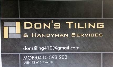 Tiling and Handyman Services