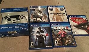 Ps4 Games and Brand new controller