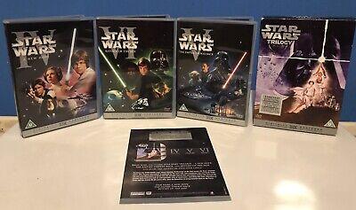 Star Wars - The Original Trilogy (DVD, 2005, 3-Disc Set, Box Set)