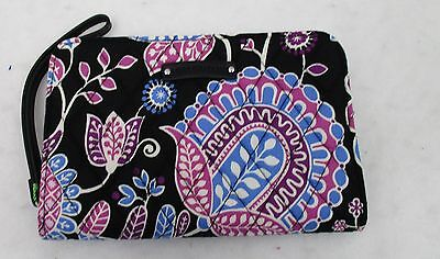 Vera Bradley Zip Around Wristlet Alpine Floral   NWT