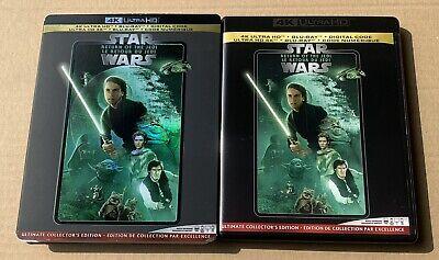 Star Wars: Return of the Jedi 4K Ultra HD UHD Blu-ray + Bonus Disc + Slipcover