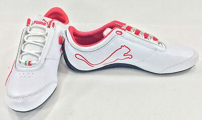 Puma Shoes Drift Cat IV 4 SF Ferrari White/Red Sneakers Size 8.5