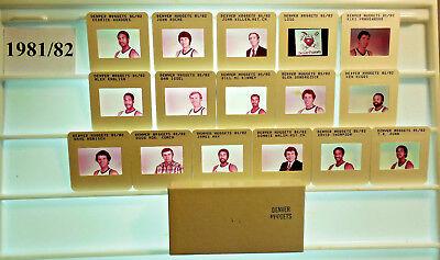 1979-96 Denver Nuggets NBA TV card / slide tm Sets U PICK Issel  English Dunn ()