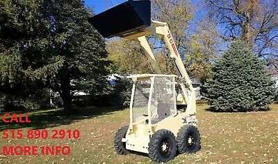 Hydra Mac 8c Skid Loader Skid Steer Bobcat Bucket