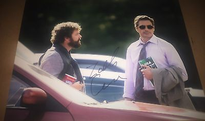Zach Galifianakis Due Date Authentic Signed 11X14 Autographed Photo W Coa Proof