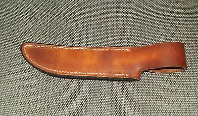 Custom Leather Sheath for fixed blade knife 1006