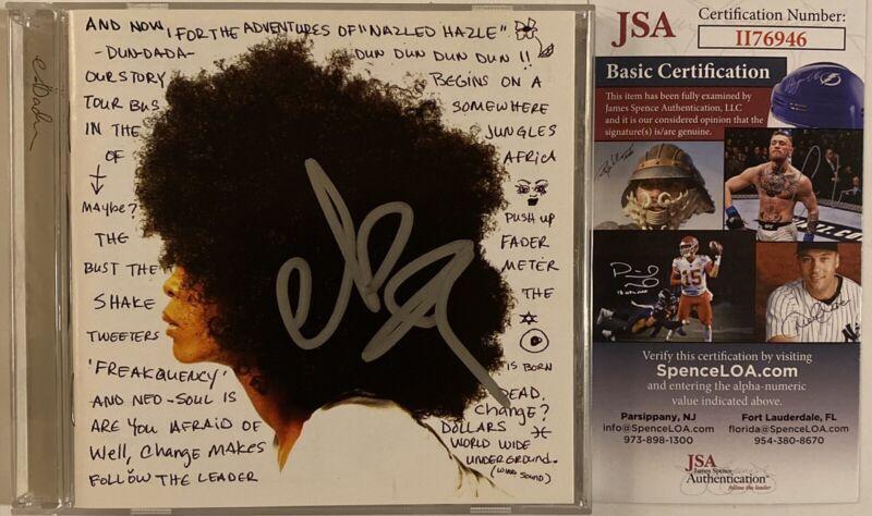Erykah Badu Signed Autographed Worldwide Underground CD JSA COA