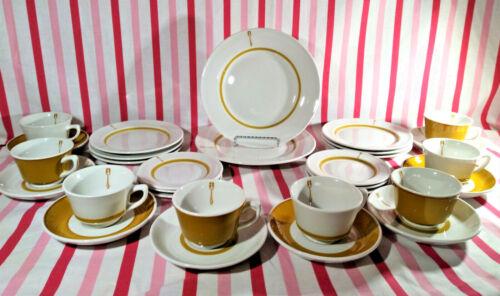 Amazing Mid Century Modern Rare Jackson China 30pc Restaurant Ware Dish Set