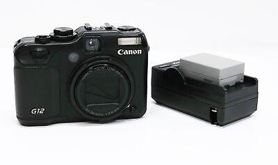 Canon PowerShot G12 10MP Digital Camera - Black
