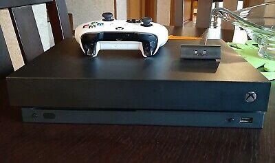 Microsoft Xbox One X 1TB Console-Nera + 3 giochi+ garanzia 2 anni