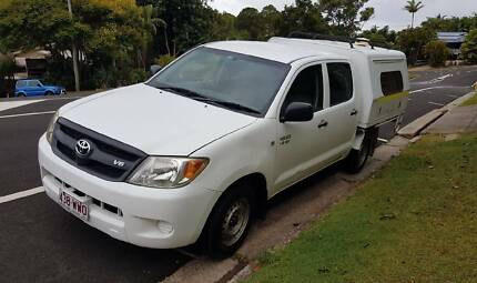 2006 Dual Cab Toyota Hilux Ute with Extras Alexandra Headland Maroochydore Area Preview