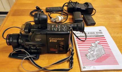 Video 8mm camcorder Canonvison E110