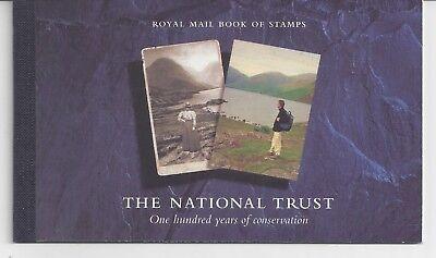 "Great Britain #BK160 (GR287) Complete 1995 ""National Trust"" Booklet, MNH, VF"