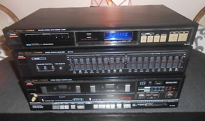Fisher EQ-273, FM-273 And CR-W46 Stereo Components