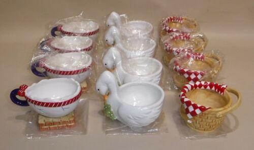 Dept. 56 ~ Storybook Teacups ~ 12 pc Tea Cups