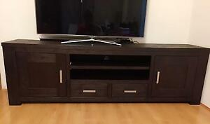 Solid Wooden TV Entertainment Unit Hornsby Hornsby Area Preview