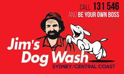 JIMS DOG WASH FRANCHISE FOR SALE - LAKE MACQUARIE