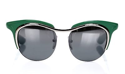 PRADA Women's Green Round 'SPR 68O' Sunglasses 141457
