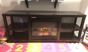 Electric Fireplace - Shelving Unit - Visuals Only