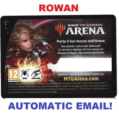MAGIC MTG ARENA CODE CARD ROWAN PLANESWALKER DECK THRONE OF ELDRAINE