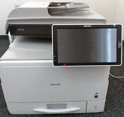 Ricoh Aficio Mp C306 A4 Color Laser Printer Copier Scanner Mfp 31ppm