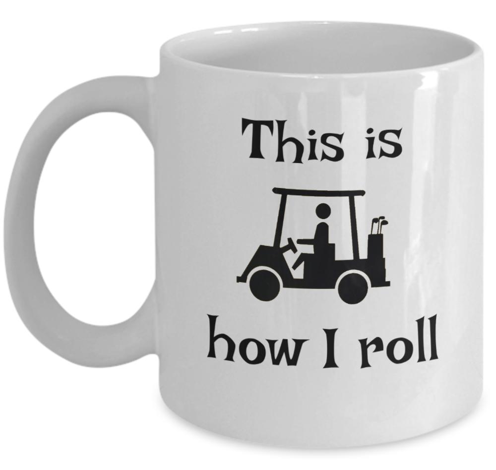 funny sport golf coffee mug this is