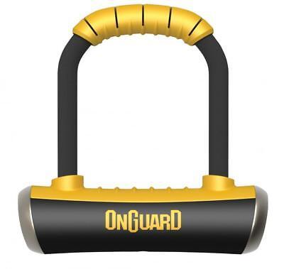 Onguard Pitbull Mini 8006 90mm X 140mm Shackle D U Bicycle Lock Gold Rated