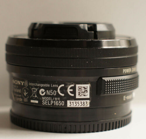 Sony E PZ 16-50mm f/3.5-5.6 OSS Lens SELP1650 for Sony E-Mount Camera