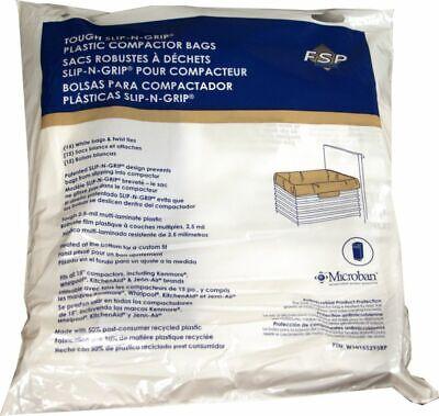 Whirlpool W10165295RP Trash Compactor Bag, 15-pack Genuine O