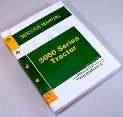 Service Manual For John Deere 5010 5020 Tractor Repair Technical Shop Overhaul