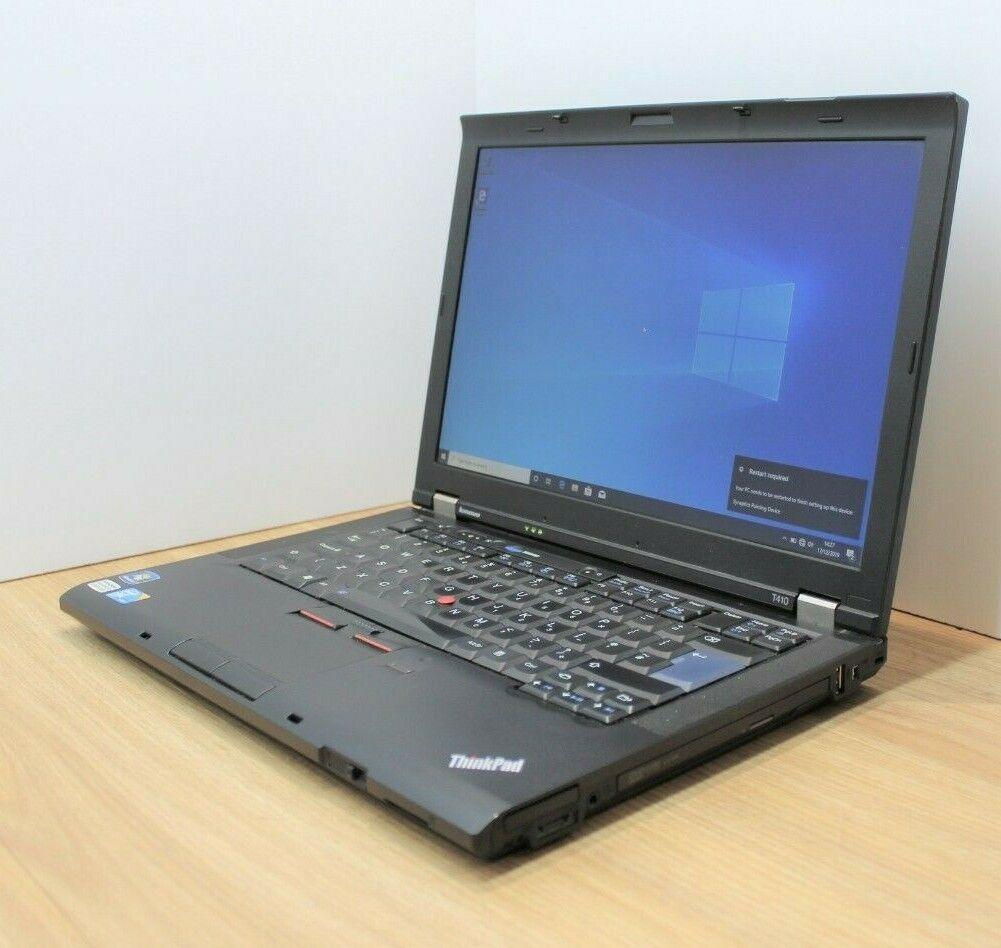 Laptop Windows - Lenovo Thinkpad T410 Windows 10 Laptop Intel Core i5 1st Gen 2.4GHz 4GB 320GB