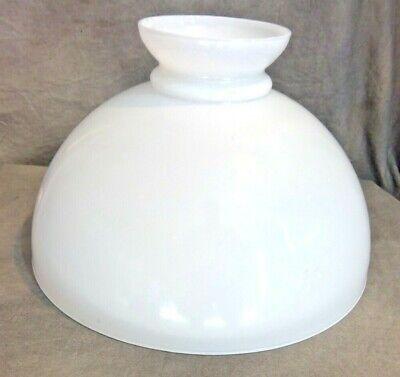 """14"""" White Vianne of France Oil Lamp Shade for Rayo Lamp Globe"""